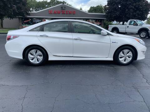 2015 Hyundai Sonata Hybrid for sale at Hawkins Motors Sales in Hillsdale MI