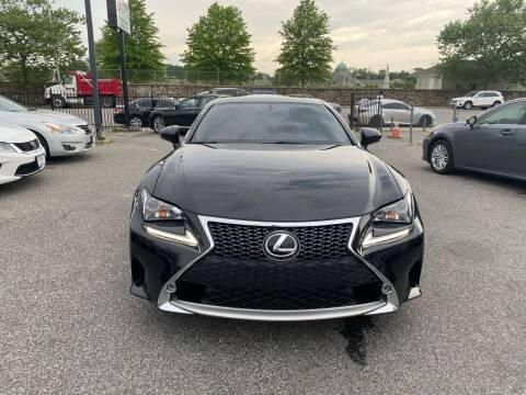 2015 Lexus RC F for sale at Sincere Motors LLC in Baltimore MD