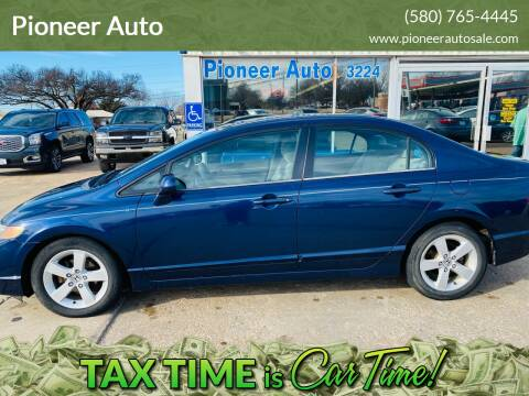 2006 Honda Civic for sale at Pioneer Auto in Ponca City OK