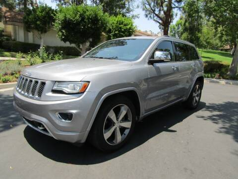 2015 Jeep Grand Cherokee for sale at E MOTORCARS in Fullerton CA