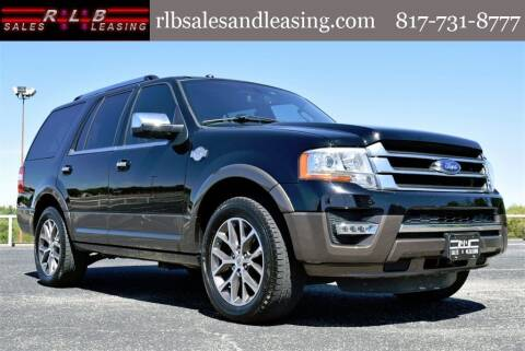 2017 Ford Expedition for sale at RLB Sales and Leasing in Fort Worth TX