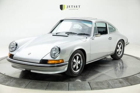 1973 Porsche 911 for sale at Jetset Automotive in Cedar Rapids IA