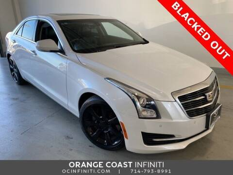 2016 Cadillac ATS for sale at ORANGE COAST CARS in Westminster CA