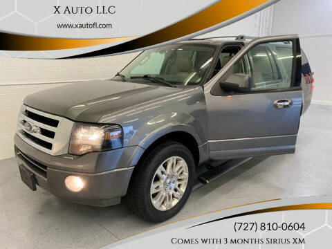 2012 Ford Expedition EL for sale at X Auto LLC in Pinellas Park FL