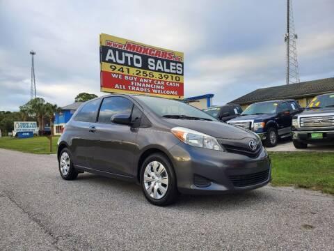 2013 Toyota Yaris for sale at Mox Motors in Port Charlotte FL