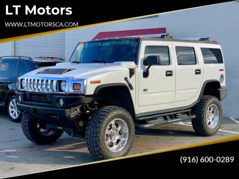 2003 HUMMER H2 for sale at LT Motors in Rancho Cordova CA