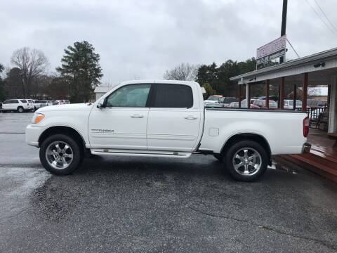 2005 Toyota Tundra for sale at TAVERN MOTORS in Laurens SC