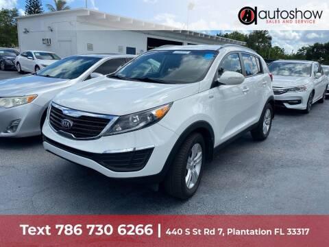 2013 Kia Sportage for sale at AUTOSHOW SALES & SERVICE in Plantation FL
