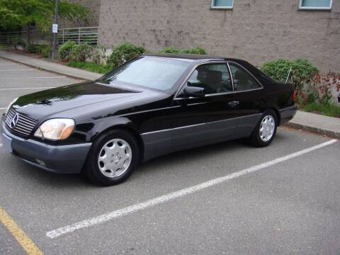 1996 Mercedes-Benz S-Class for sale at Western Auto Brokers in Lynnwood WA