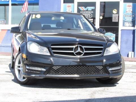 2014 Mercedes-Benz C-Class for sale at VIP AUTO ENTERPRISE INC. in Orlando FL