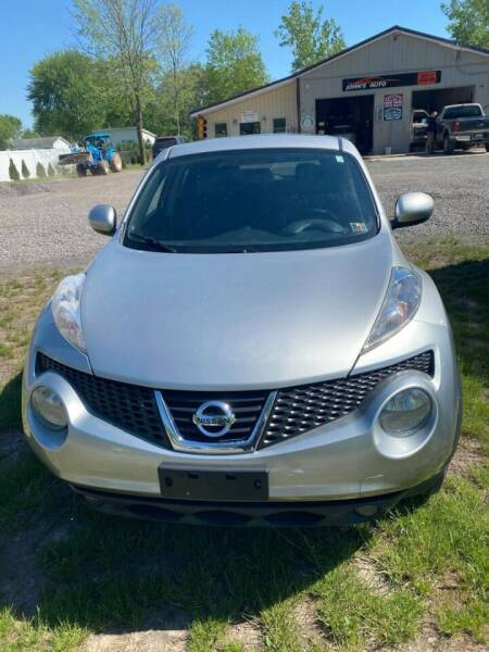 2012 Nissan JUKE for sale at John's Auto Sales & Service Inc in Waterloo NY