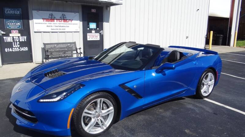 2016 Chevrolet Corvette for sale at Time To Buy Auto in Baltimore OH