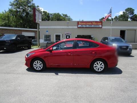 2018 Hyundai Accent for sale at DERIK HARE in Milton FL