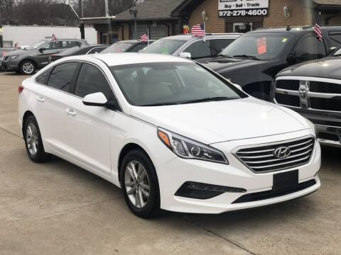 2015 Hyundai Sonata for sale at Safeen Motors in Garland TX