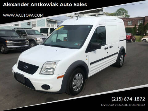 2012 Ford Transit Connect for sale at Alexander Antkowiak Auto Sales in Hatboro PA