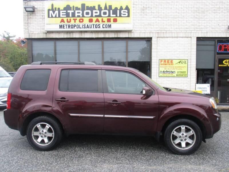 2009 Honda Pilot for sale at Metropolis Auto Sales in Pelham NH