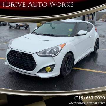 2013 Hyundai Veloster Turbo for sale at iDrive Auto Works in Colorado Springs CO