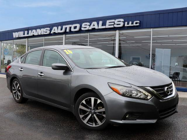 2016 Nissan Altima for sale at Williams Auto Sales, LLC in Cookeville TN