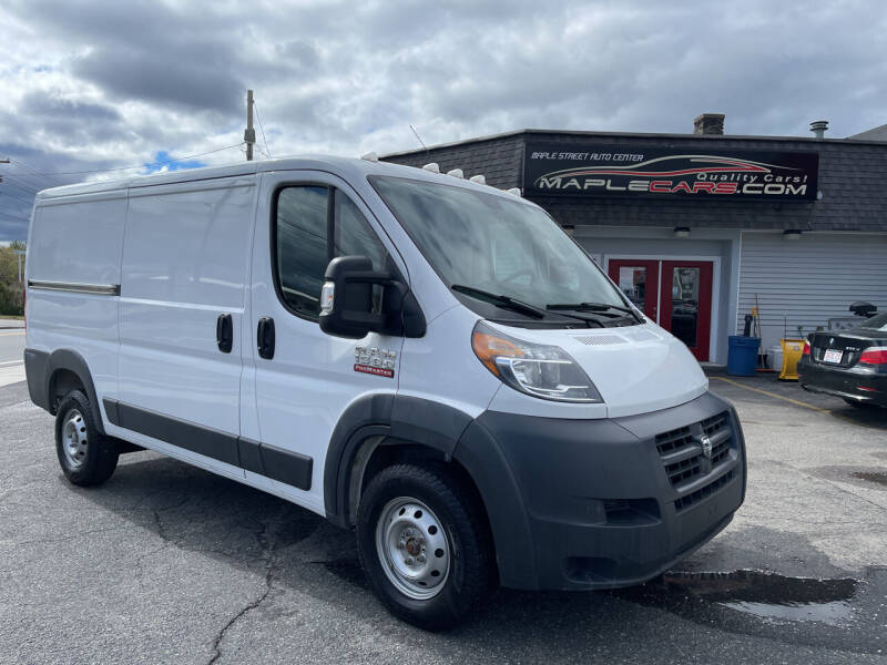 2018 RAM ProMaster Cargo for sale at Maple Street Auto Center in Marlborough MA