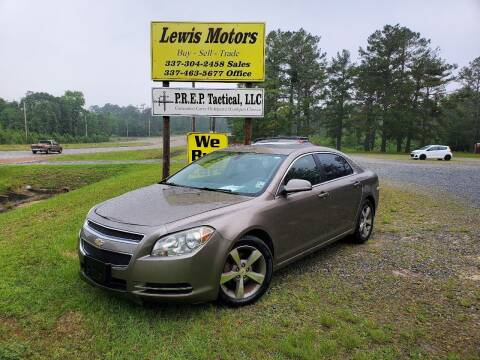 2011 Chevrolet Malibu for sale at Lewis Motors LLC in Deridder LA