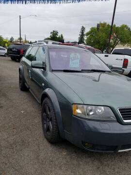 2002 Audi A6 allroad for sale at 2 Way Auto Sales in Spokane Valley WA