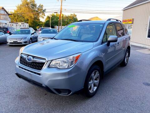 2014 Subaru Forester for sale at Dijie Auto Sale and Service Co. in Johnston RI