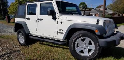 2008 Jeep Wrangler Unlimited for sale at Sinclair Auto Inc. in Pendleton IN