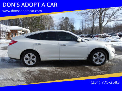 2012 Honda Crosstour for sale at DON'S ADOPT A CAR in Cadillac MI