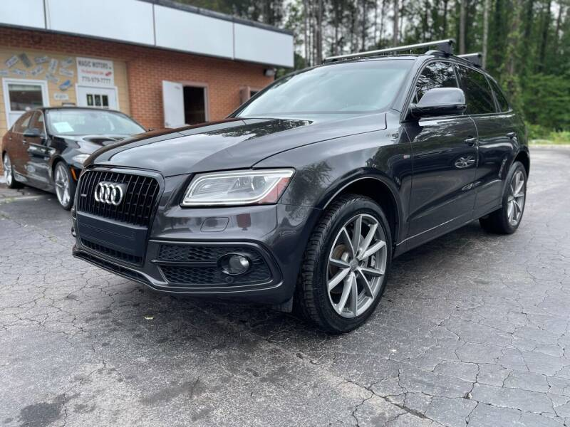 2015 Audi Q5 for sale at Magic Motors Inc. in Snellville GA