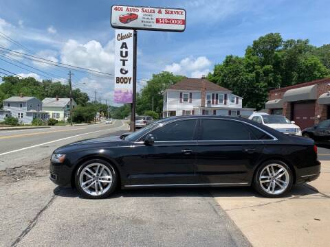 2015 Audi A8 L for sale at 401 Auto Sales & Service in Smithfield RI