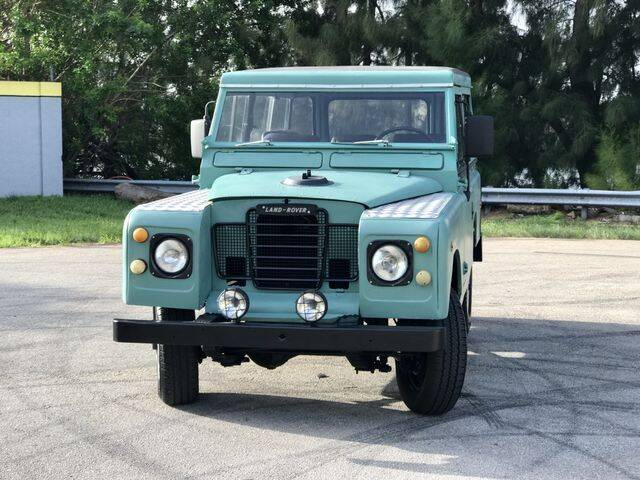 1965 Land Rover 88 SERIE II A for sale at Exclusive Impex Inc in Davie FL
