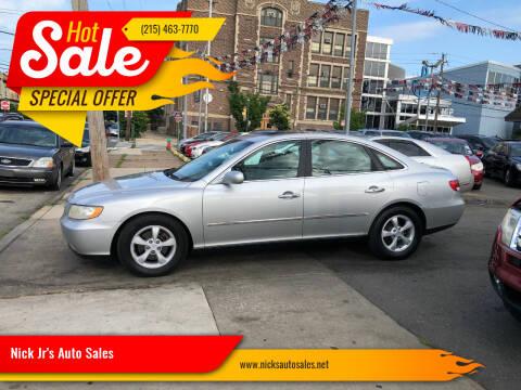 2007 Hyundai Azera for sale at Nick Jr's Auto Sales in Philadelphia PA