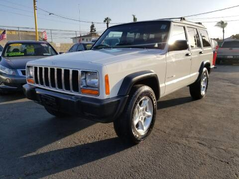 2000 Jeep Cherokee for sale at A2B AUTO SALES in Chula Vista CA