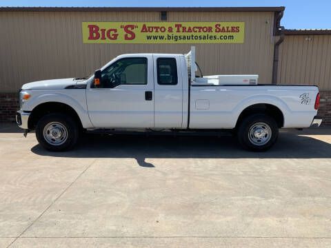2016 Ford F-250 Super Duty for sale at BIG 'S' AUTO & TRACTOR SALES in Blanchard OK