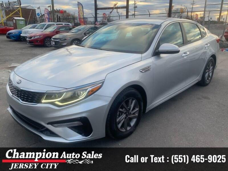 2020 Kia Optima for sale at CHAMPION AUTO SALES OF JERSEY CITY in Jersey City NJ