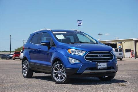 2019 Ford EcoSport for sale at Douglass Automotive Group - Douglas Ford in Clifton TX