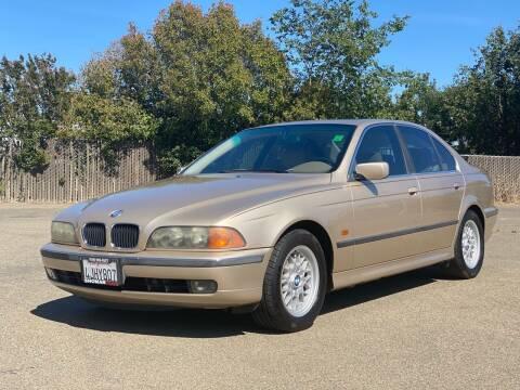 1999 BMW 5 Series for sale at SHOMAN MOTORS in Davis CA