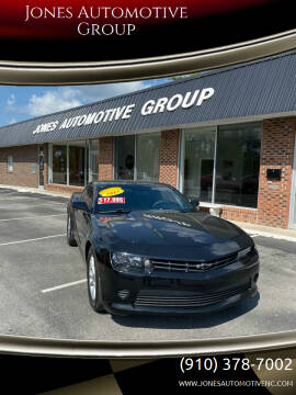 2015 Chevrolet Camaro for sale at Jones Automotive Group in Jacksonville NC