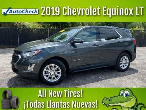 2019 Chevrolet Equinox for sale at LIQUIDATORS in Houston TX