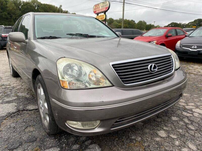 2003 Lexus LS 430 for sale at DREWS AUTO SALES INTERNATIONAL BROKERAGE in Atlanta GA