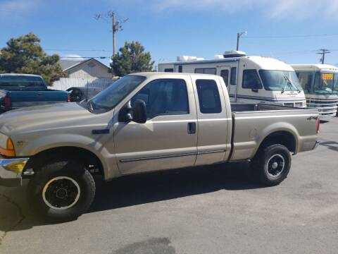 2000 Ford F-250 Super Duty for sale at Freds Auto Sales LLC in Carson City NV