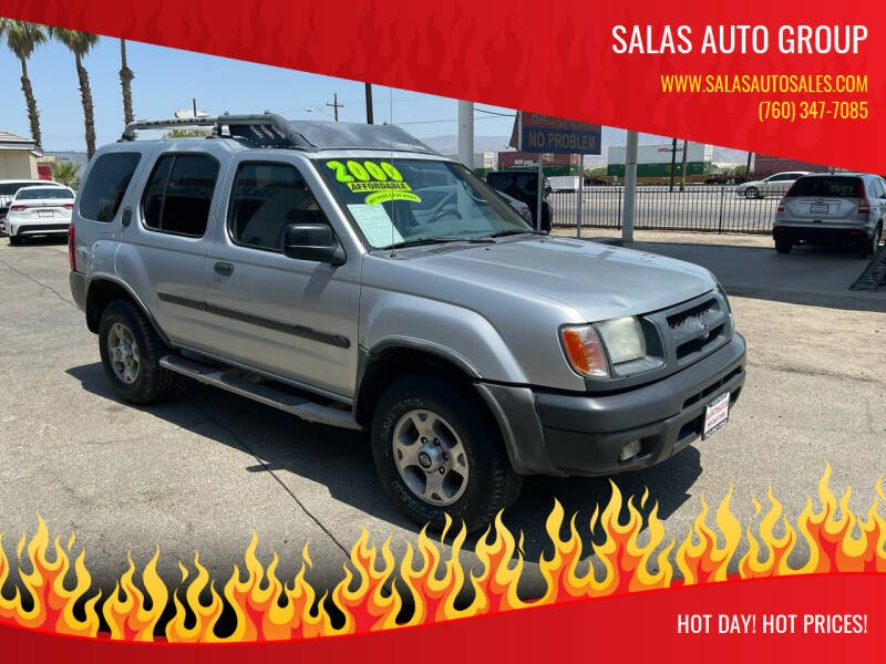 2000 Nissan Xterra for sale at Salas Auto Group in Indio CA