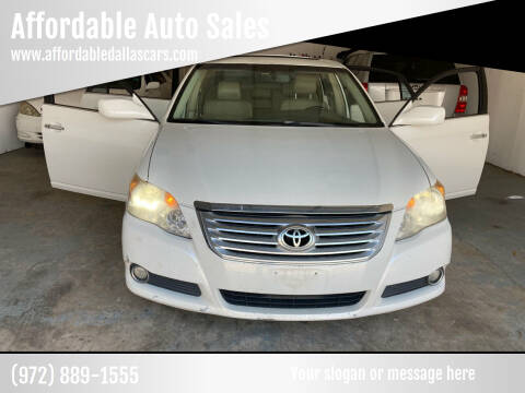 2008 Toyota Avalon for sale at Affordable Auto Sales in Dallas TX