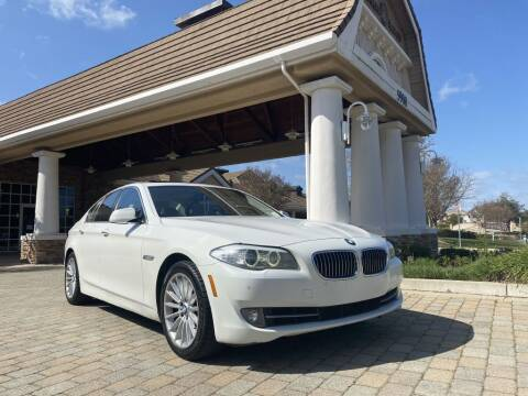 2012 BMW 5 Series for sale at CarSwitch Inc in San Ramon CA
