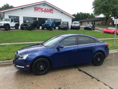 2012 Chevrolet Cruze for sale at Efkamp Auto Sales LLC in Des Moines IA