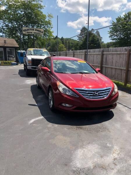 2011 Hyundai Sonata for sale at Selective Wheels in Windber PA