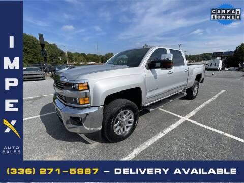 2019 Chevrolet Silverado 2500HD for sale at Impex Auto Sales in Greensboro NC