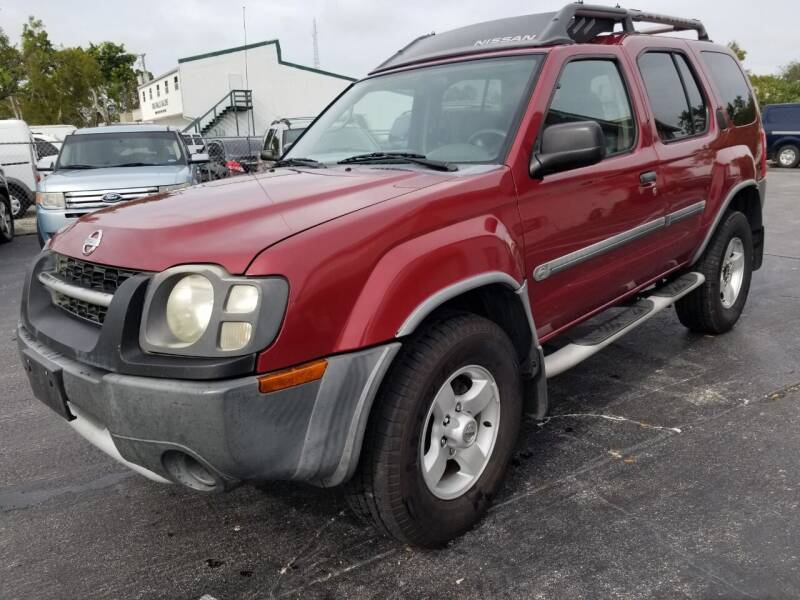2004 Nissan Xterra for sale at CAR-RIGHT AUTO SALES INC in Naples FL