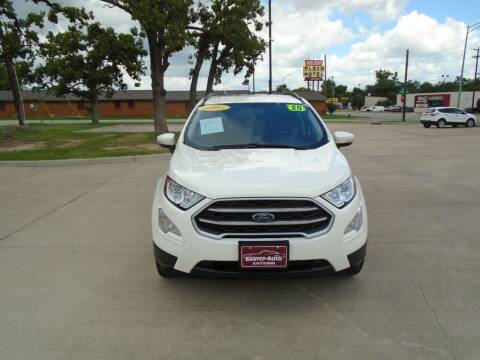 2020 Ford EcoSport for sale at Eastep Auto Sales in Bryan TX