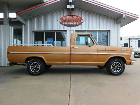 1971 Ford 100 Custom for sale at Motorsports Unlimited in McAlester OK